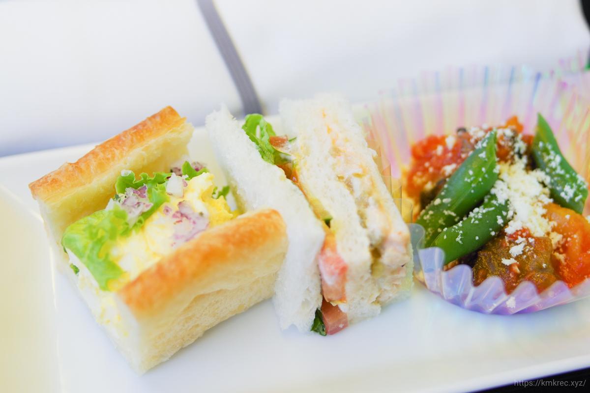 ANAプレミアムクラス機内食(朝食)