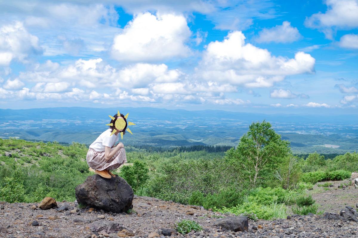 望岳台からの景色