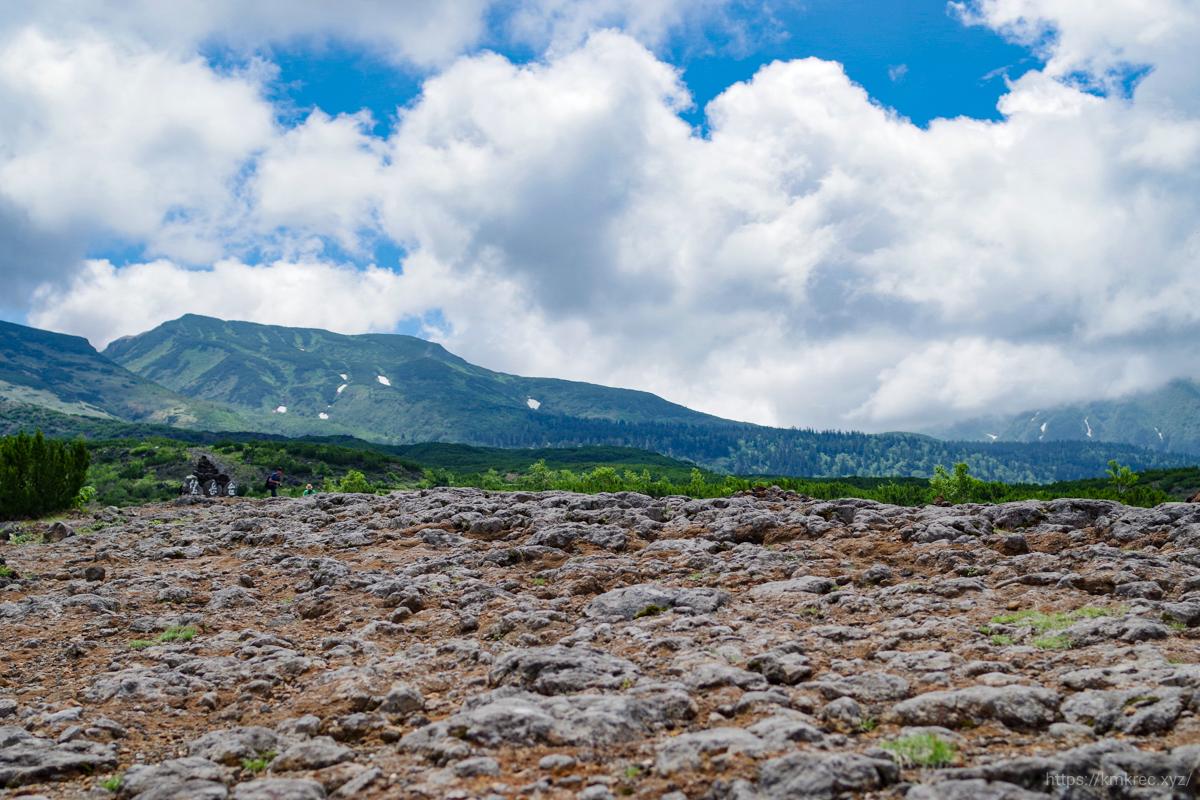 望岳台の道