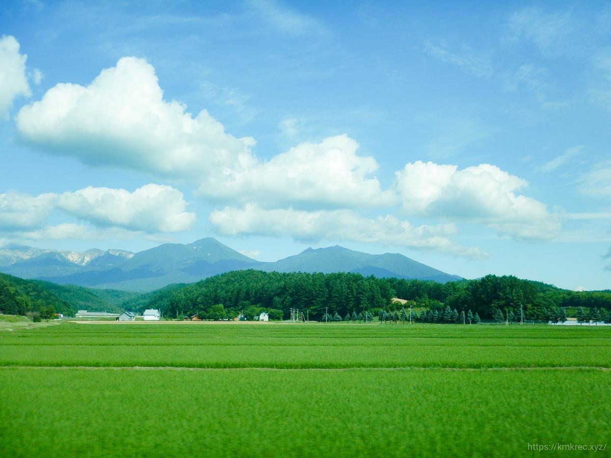北海道・車窓からの景色
