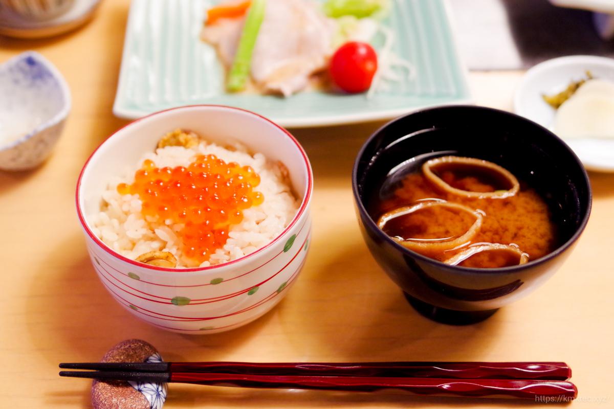 和食からまつの食事