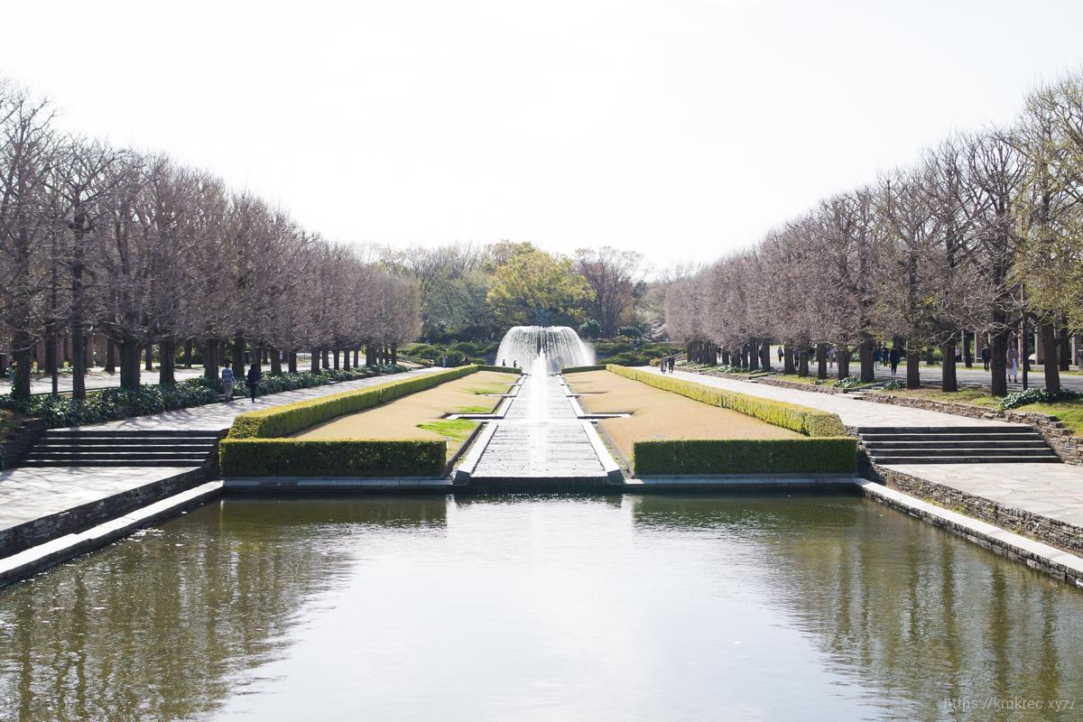 昭和記念公園の噴水