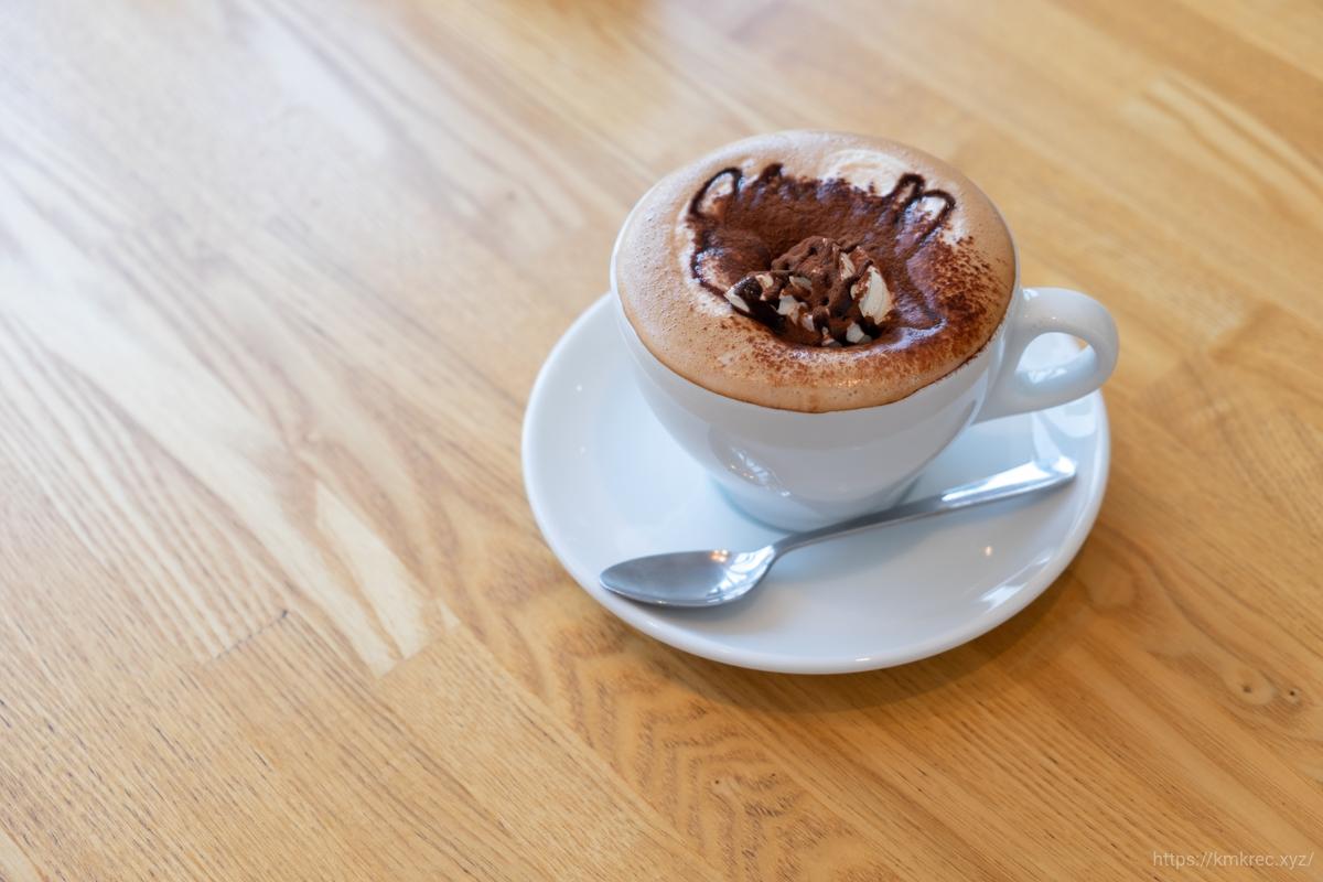 「パンとエスプレッソと自由形」のカフェモカ