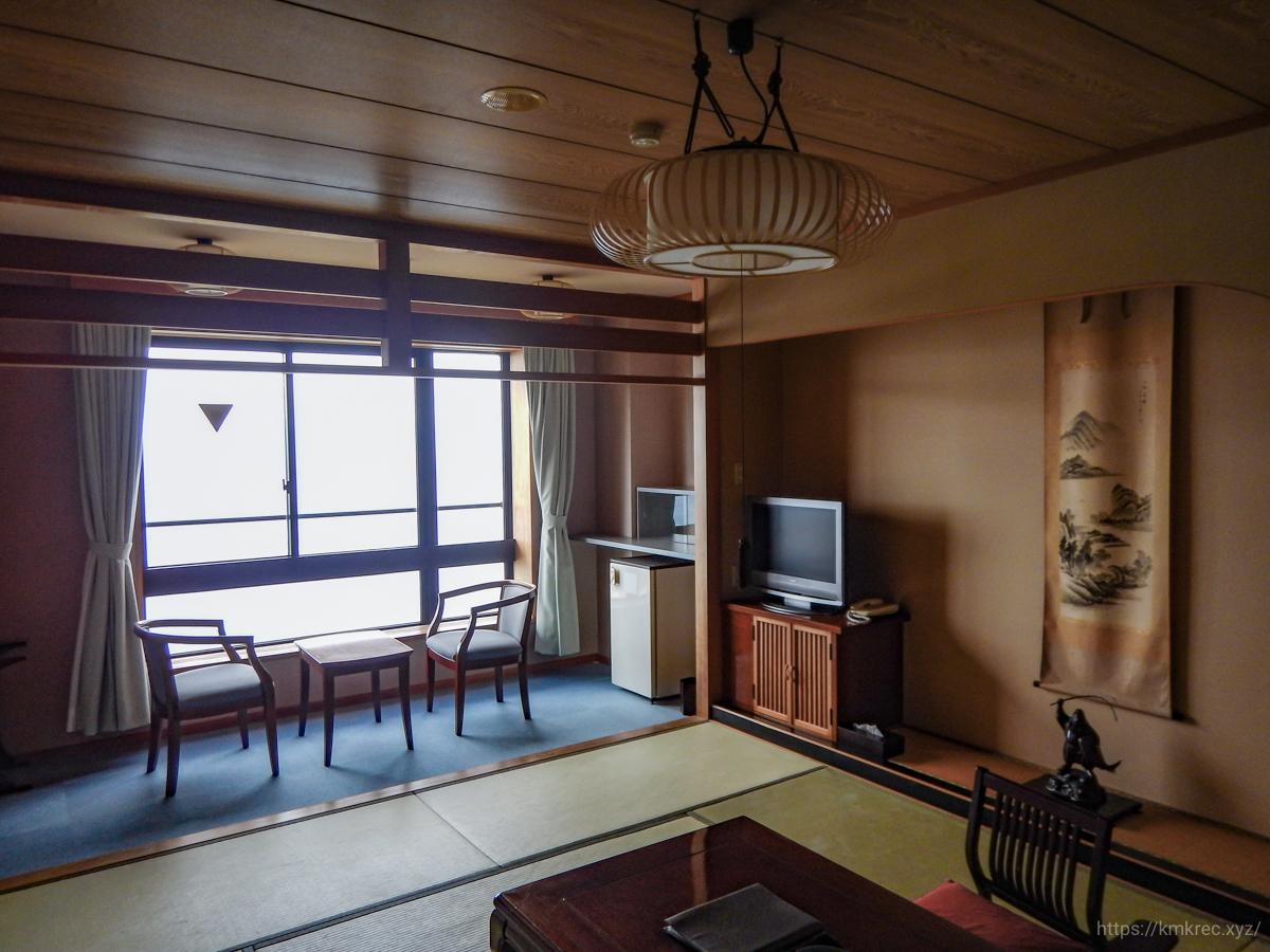 ホテル竜飛の部屋
