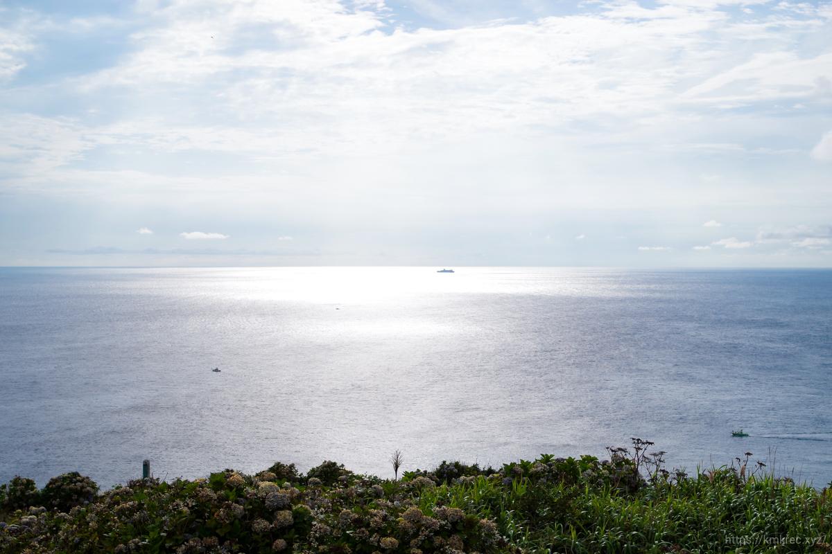 龍飛崎からの景色