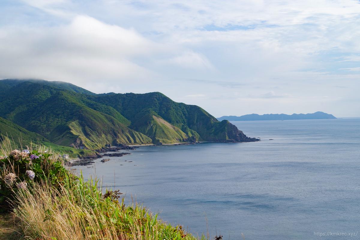 竜飛崎からの景色