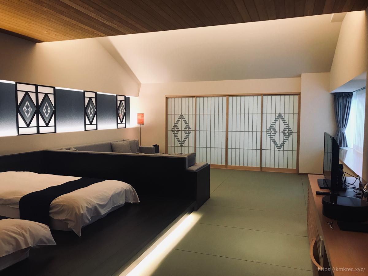 「星野リゾート 界 津軽」の和室