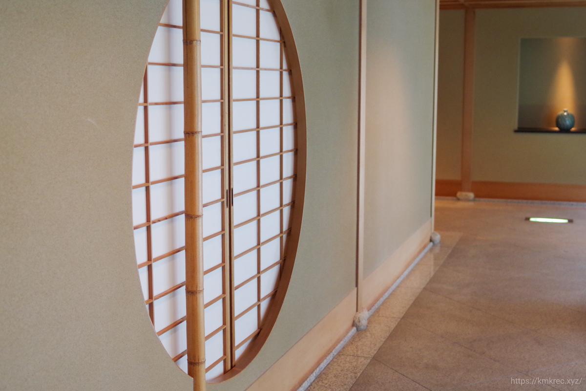 「星野リゾート 界 津軽」の廊下
