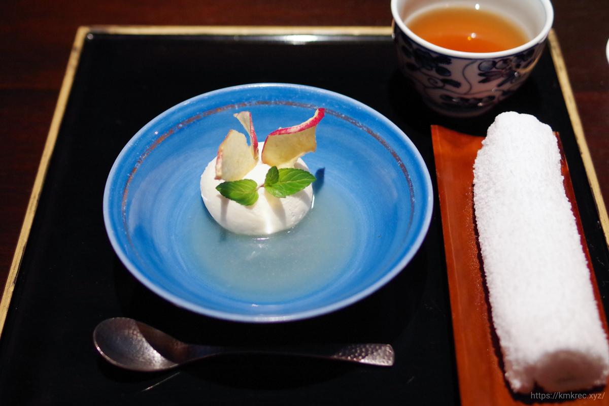淡雪チーズ りんごソース